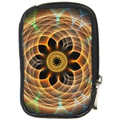 Mixed Chaos Flower Colorful Fractal Compact Camera Cases by BangZart