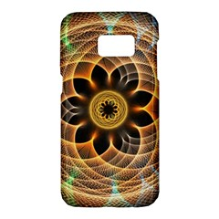 Mixed Chaos Flower Colorful Fractal Samsung Galaxy S7 Hardshell Case