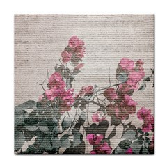 Shabby Chic Style Floral Photo Face Towel by dflcprints