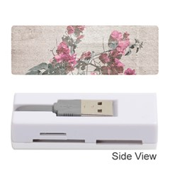 Shabby Chic Style Floral Photo Memory Card Reader (stick)  by dflcprints