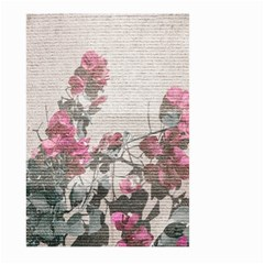 Shabby Chic Style Floral Photo Large Garden Flag (two Sides) by dflcprints