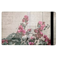 Shabby Chic Style Floral Photo Apple Ipad 3/4 Flip Case by dflcprints