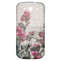 Shabby Chic Style Floral Photo Samsung Galaxy S3 S Iii Classic Hardshell Back Case by dflcprints