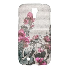 Shabby Chic Style Floral Photo Samsung Galaxy S4 I9500/i9505 Hardshell Case by dflcprints