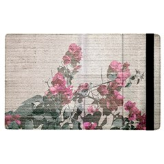 Shabby Chic Style Floral Photo Apple Ipad Pro 9 7   Flip Case