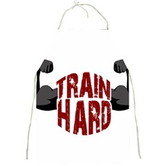 Train Hard Full Print Aprons by Valentinaart
