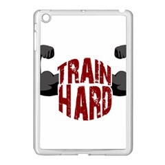 Train Hard Apple Ipad Mini Case (white) by Valentinaart