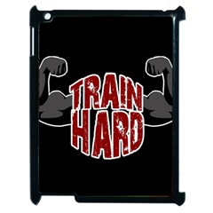Train Hard Apple Ipad 2 Case (black) by Valentinaart