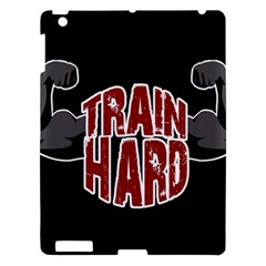 Train Hard Apple Ipad 3/4 Hardshell Case by Valentinaart
