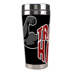 Train Hard Stainless Steel Travel Tumblers by Valentinaart