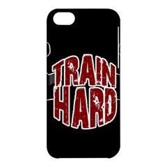 Train Hard Apple Iphone 5c Hardshell Case by Valentinaart