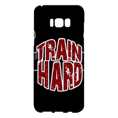 Train Hard Samsung Galaxy S8 Plus Hardshell Case  by Valentinaart
