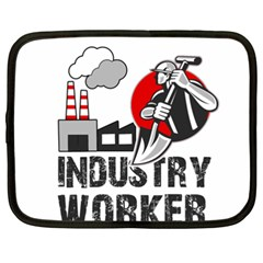 Industry Worker  Netbook Case (xxl)  by Valentinaart