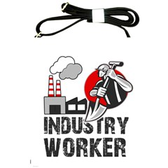 Industry Worker  Shoulder Sling Bags by Valentinaart