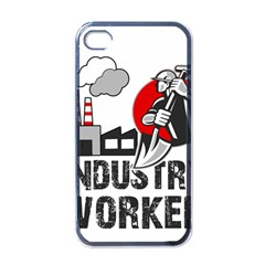 Industry Worker  Apple Iphone 4 Case (black) by Valentinaart