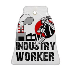 Industry Worker  Bell Ornament (two Sides) by Valentinaart