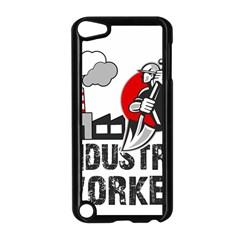 Industry Worker  Apple Ipod Touch 5 Case (black) by Valentinaart