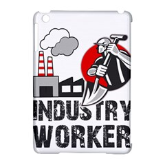 Industry Worker  Apple Ipad Mini Hardshell Case (compatible With Smart Cover) by Valentinaart