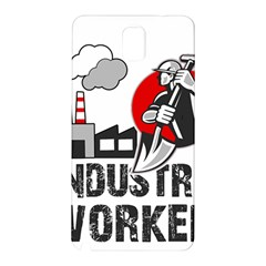 Industry Worker  Samsung Galaxy Note 3 N9005 Hardshell Back Case by Valentinaart