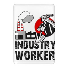 Industry Worker  Samsung Galaxy Tab Pro 10 1 Hardshell Case by Valentinaart