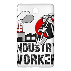 Industry Worker  Samsung Galaxy Tab 4 (7 ) Hardshell Case  by Valentinaart
