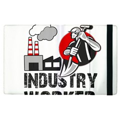 Industry Worker  Apple Ipad Pro 9 7   Flip Case by Valentinaart