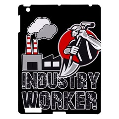 Industry Worker  Apple Ipad 3/4 Hardshell Case by Valentinaart