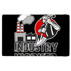 Industry Worker  Apple Ipad 2 Flip Case by Valentinaart