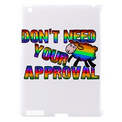 Dont Need Your Approval Apple Ipad 3/4 Hardshell Case (compatible With Smart Cover) by Valentinaart