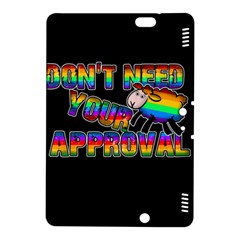 Dont Need Your Approval Kindle Fire Hdx 8 9  Hardshell Case by Valentinaart
