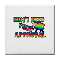 Dont Need Your Approval Face Towel by Valentinaart