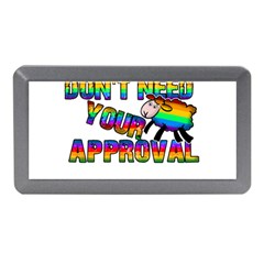Dont Need Your Approval Memory Card Reader (mini) by Valentinaart