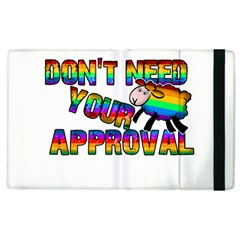 Dont Need Your Approval Apple Ipad 3/4 Flip Case by Valentinaart