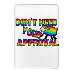 Dont Need Your Approval Samsung Galaxy Tab Pro 12 2 Hardshell Case by Valentinaart