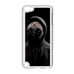 Gangsta Pug Apple Ipod Touch 5 Case (white) by Valentinaart