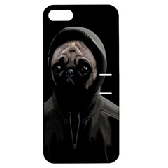 Gangsta Pug Apple Iphone 5 Hardshell Case With Stand by Valentinaart