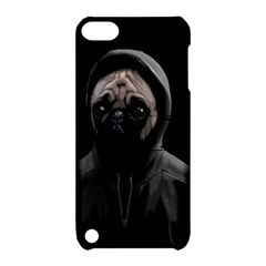Gangsta Pug Apple Ipod Touch 5 Hardshell Case With Stand by Valentinaart