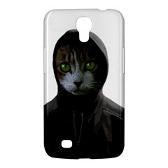 Gangsta Cat Samsung Galaxy Mega 6 3  I9200 Hardshell Case by Valentinaart