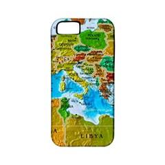 World Map Apple Iphone 5 Classic Hardshell Case (pc+silicone)
