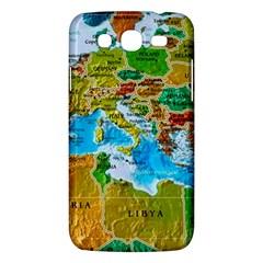 World Map Samsung Galaxy Mega 5 8 I9152 Hardshell Case  by BangZart