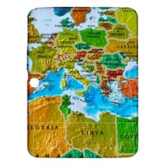 World Map Samsung Galaxy Tab 3 (10 1 ) P5200 Hardshell Case