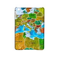 World Map Ipad Mini 2 Hardshell Cases