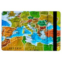 World Map Ipad Air 2 Flip