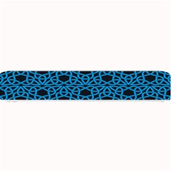 Triangle Knot Blue And Black Fabric Small Bar Mats