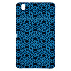 Triangle Knot Blue And Black Fabric Samsung Galaxy Tab Pro 8 4 Hardshell Case