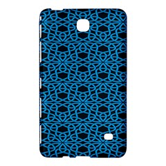 Triangle Knot Blue And Black Fabric Samsung Galaxy Tab 4 (7 ) Hardshell Case