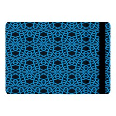 Triangle Knot Blue And Black Fabric Apple Ipad Pro 10 5   Flip Case by BangZart