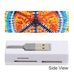 Tie Dye Peace Sign Memory Card Reader (stick)