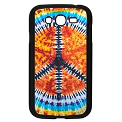 Tie Dye Peace Sign Samsung Galaxy Grand Duos I9082 Case (black)