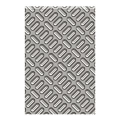 Grey Diamond Metal Texture Shower Curtain 48  X 72  (small)  by BangZart